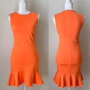 ASOS sleeveless Orange dress